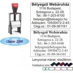 Colop Classic 2300 bélyegző
