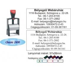 Colop Classic 2400 bélyegző