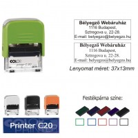 Colop Printer 20 bélyegző