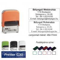 Colop Printer 30 bélyegző