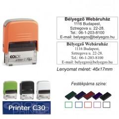 Colop Printer 30 bélyegző