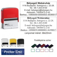 Colop Printer 40 bélyegző