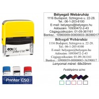 Colop Printer 50 bélyegző