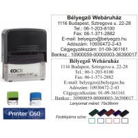Colop Printer 60 bélyegző