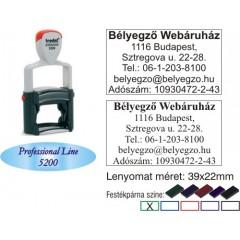 Trodat Professional Line 5200 bélyegző